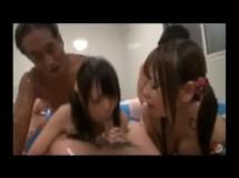 ★★★乱交★★★貸切風呂で濡れた美女たちと四方八方から挿入し放題