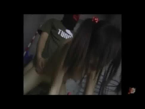 覆面の男に強制イマラチオ&バックで美少女の人格を崩壊していく鬼畜映像