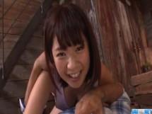 【無】完璧なボディのS級ロリ顔少女のまる見えセックス