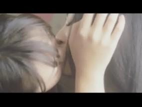 天才てれびくんの橋本甜歌(てんちむ)似が全裸でレズキス映像