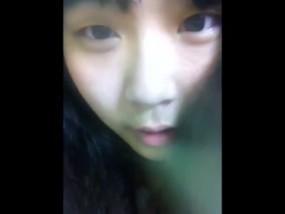 ロリ無★★韓国の黒髪美少女がライブチャットでマ◎コ公開オナニー